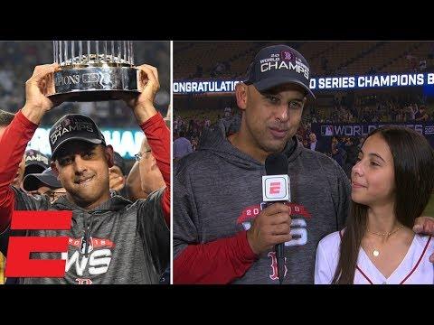 Alex Cora details Boston Red Sox's journey to World Series | MLB Sound