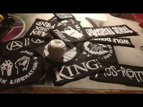 How to make DIY punk patches