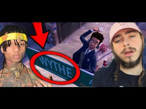 6 Things You Missed In Post Malone, Swae Lee - Sunflower (Spider-Man: Into the Spider-Verse)