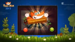 Tim the Fox - educational games for kids - for Eurasia Mobile Challenge