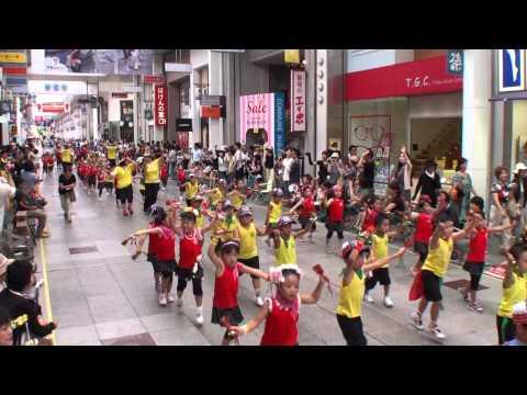 くるみ幼稚園 ~2014高知よさこい祭り・本祭1日目(帯屋町演舞場)