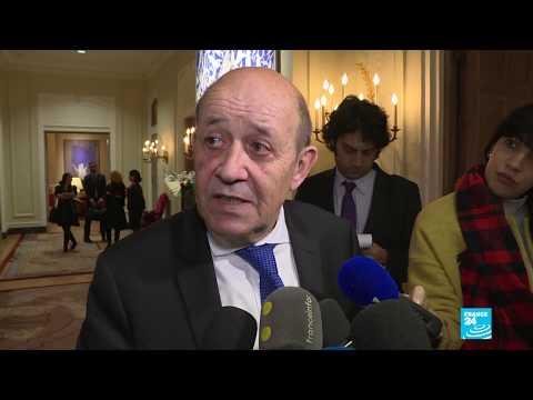"""""""Les jihadistes doivent être jugés là où ils ont commis leurs crimes"""" : Jean-Yves Le Drian"""
