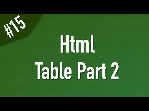 تعلم Html القائمة #1 الفديو #15