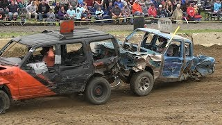 Compact Trucks - Huron County Fall Derby 2019