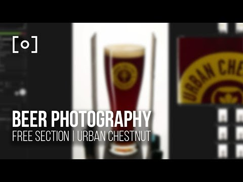 Photographing Beer on a White Background | PRO EDU Free Tutorial
