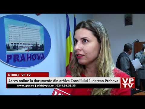 Acces online la documente din arhiva Consiliului Județean Prahova