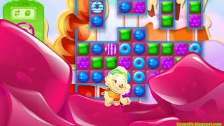 Candy Crush Jelly Saga Level 1649 (1 booster used)