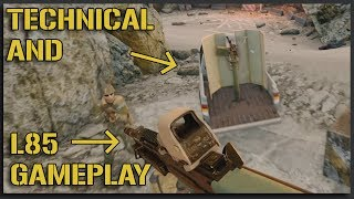 UNCUT L85 + VEHICLE Insurgency Sandstorm Gameplay