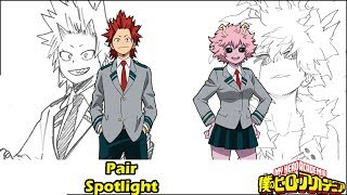 Mina Ashido  - (My Hero Academia) - Why This Is A Thing: Kirishima And Mina || My Hero Academia Pairs Explained