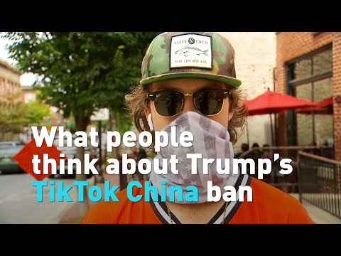 What people think about Trump's proposed TikTok ban