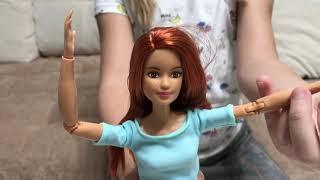 Распаковка Новая кукла Барби - Милана очень рада )