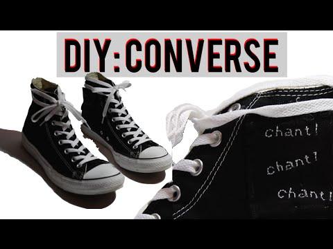DIY Converse (Chuck Taylor Custom)