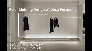 Retail Lighting Design Webinar