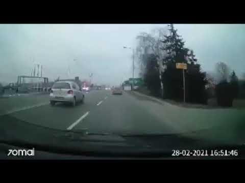 Wideo1: Brawurowa jazda leszczyńskiego taksówkarza