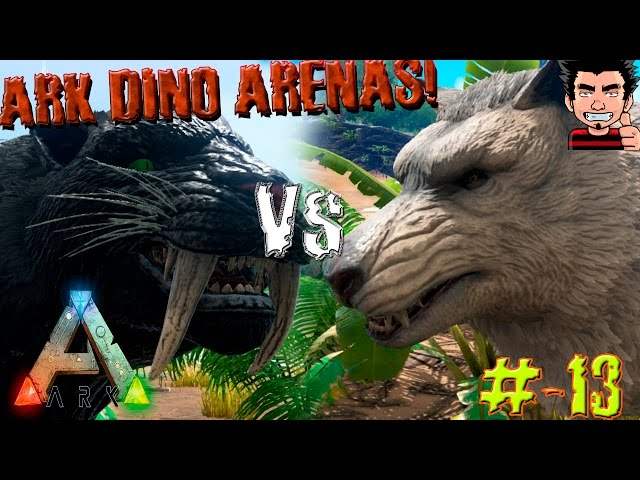 Ark-survival-evolved-sabertooth-vs