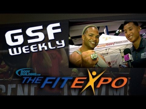 The Fit Expo - GSF Weekly On-the-Spot interview w/ Brendon Ayanbadejo of the Baltimore Ravens