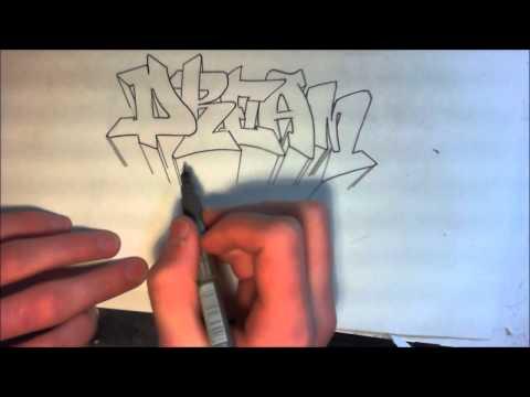 tutorial graffiti comment faire les 3d debutants francais graff sur papier. Black Bedroom Furniture Sets. Home Design Ideas