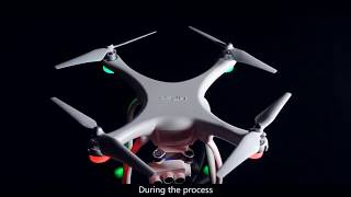 UPair Two Drone with 4K UHD Camera 3-Eye Lens, 5.8G RC WiFi Quadcopter FPV Transmission