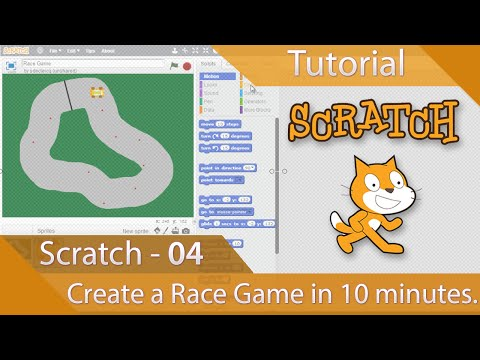Scratch – Tutorial 04 – Create a Race Game in Ten Minutes