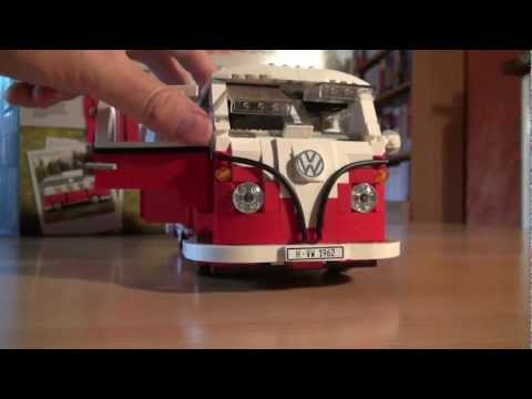 Test Lego Set 10220: Volkswagen VW Bus T1 Campingbus (Review)