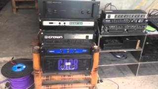 "CV Old School 15"" 1200watts & Tsunami Live Pro 1600watts"