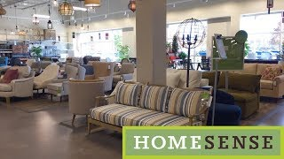 HOME SENSE FURNITURE SOFAS COUCHES CHAIRS HOME DECOR SHOP WITH ME SHOPPING STORE WALK THROUGH 4K