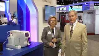 pocH-100i, XP-300, and XS-1000i display in Sysmex booth at AACC 2014