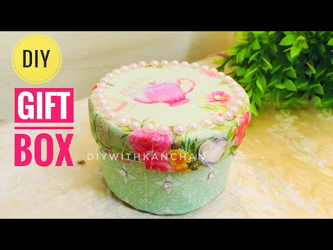 How To Make A Gift Box Or Easy Ideas