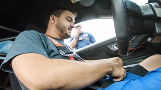 Cop stops me at 140mph in my Racecar on the Street...