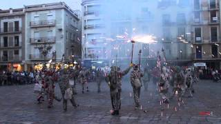 preview picture of video '1a Trobada de diables amb civader a Reus'