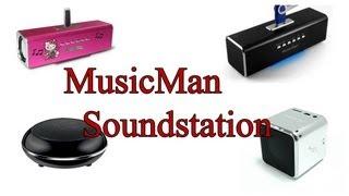 """MusicMan (Mini) Soundstation + Hello Kitty Version + Moby Wavemaster"" -Test"