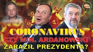 Czy min. Ardanowski mógł zarazić Prezydenta Dudę KORONAWIRUSem?