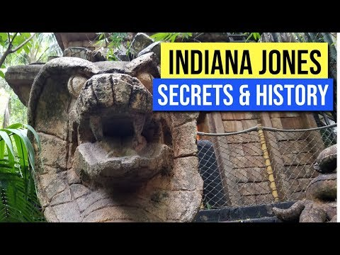 Secrets and History of Indiana Jones Adventure - Temple of the Forbidden Eye