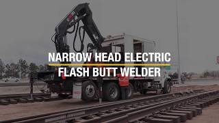 Narrow Head Flash Butt Welding Truck