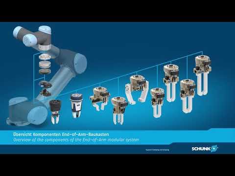Kompletny system modułowy SCHUNK do uniwersalnych robotów - zdjęcie