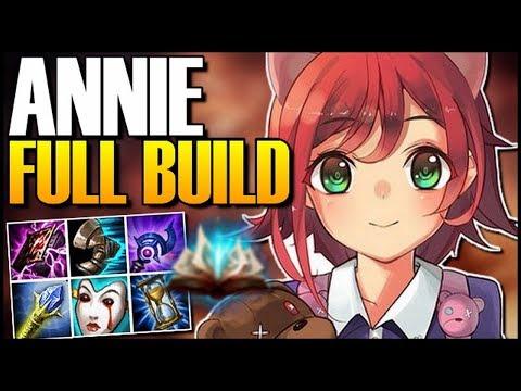 annie skill build