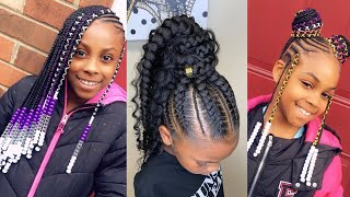 Braided Ponytail Hairstyles For Kids/Ponytail Hairstyles For Kids | Cute