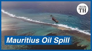 Mauritius struggles to contain massive oil spill in the Indian Ocean - Download this Video in MP3, M4A, WEBM, MP4, 3GP