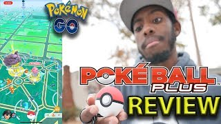POKEMON LET'S GO POKEBALL PLUS REVIEW!! IS IT BETTER THAN THE GO PLUS??