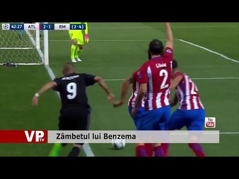 Zâmbetul lui Benzema