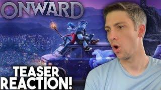 Onward Official Teaser Trailer Reaction!