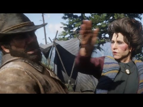Susan Slaps Arthur For Being Dirty Red Dead Redemption 2
