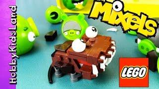 Emmet Gets Eaten by LEGO Mixel! Bad Piggies + Batman Story by HobbyPig HobbyKidsLand