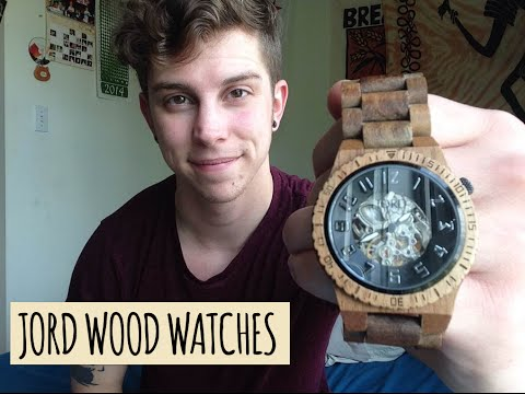 JORD WOOD WATCHES || MY DOVER + CONTEST!