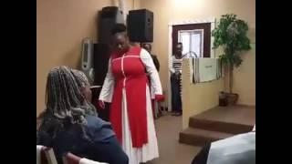 "Ms.Krystal  "" Bigger""  @ Second Chance Worship Center"