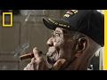 USA:n vanhin mies ja sotaveteraani kertoo elämästä...