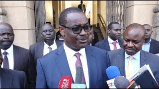 IN COURT: Charges leveled against Evans Kidero after spending night in police cell