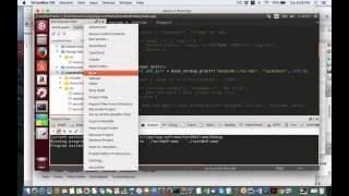 Test C++ with wxWidget GUI and NOSQL MongoDB ping on Ubuntu Li...