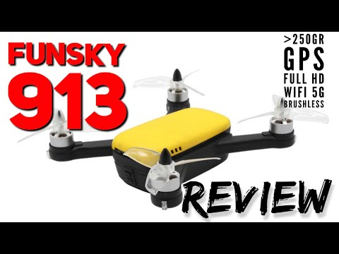Funsky 913: vídeo Full HD, Brushless y GPS por debajo de los 250gr