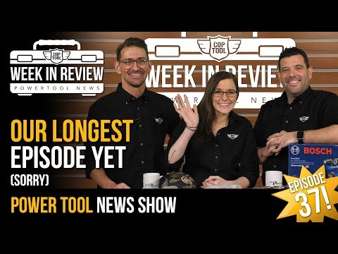 The First Craftsmen Reviews & Hilti Goes Down Under! – This Is Your Coptool Week In Review 12/7/18